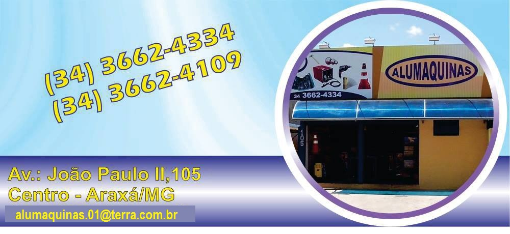 ALUMÁQUINAS - EQUIPAMENTO PARA SOLDA ARAXÁ 40324aa089